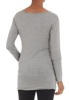 Astrid Ray - Sonnie sweater Pale Grey