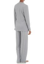 Lila Rose - Cross-over pyjama set Grey (mid grey)