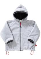 Phoebe & Floyd - Reversible polar fleece jacket Grey
