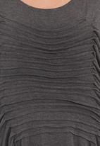 edit - Butterfly knit top Dark Grey