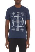 Levi's® - Levi's® Turn T-shirt Navy