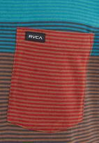 RVCA - Commander T-shirt  Multi-colour