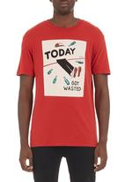 RVCA - Today T-shirt Red