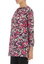 Amanda May - Printed Tunic Multi-colour