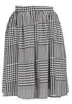 Amanda May - Cotton skirt Black/White