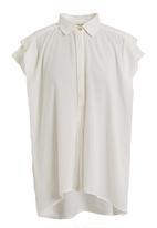 RVCA - Chipper woven blouse White