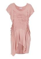 edit - Butterfly top Pale Pink