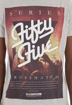 Crosshatch - Retroparty T-shirt Dark Grey