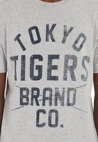 Tokyo Tigers - Manati T-shirt Dark Grey