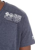 Crosshatch - Lighthouse T-shirt Dark Blue