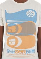 Crosshatch - 55 Blend T-shirt Pale Grey