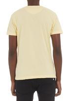 Crosshatch - 55 Blend T-shirt Yellow