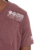 Crosshatch - Lighthouse T-shirt  Red