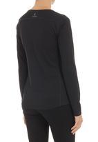 New Balance  - Go 2 long-sleeve top Black