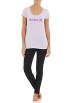 Hurley - One and Only Scoopful T-shirt Purple