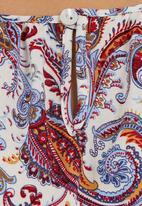 STYLE REPUBLIC - Paisley-printed drop waist tunic Multi-colour