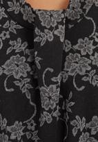 edit - Asymmetrical tunic Black