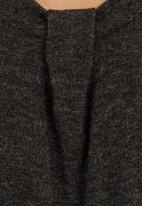 edit - Asymmetrical Tunic Grey