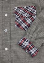 Sam & Seb - Check shirt Grey