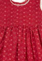 Phoebe & Floyd - Printed dress Red