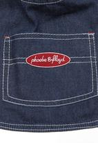 Phoebe & Floyd - Bib Blue black denim