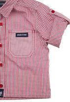 Phoebe & Floyd - Check shirt Red