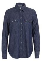 Levi's® - Relaxed sawtooth western shirt  Blue (dark blue)