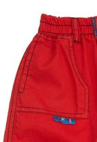 Seven Ounce - Kids cargo pants Red