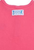Seven Ounce - Kids grandpa T-shirt Pink (mid pink)