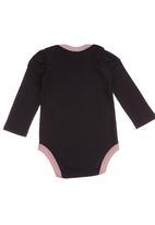 Eco Punk - Babygrow Black