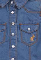 POLO - Denim shirt Blue