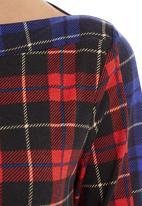 adam&eve; - Tartan long-sleeve top Multi-colour