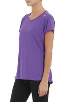 New Balance  - Go 2 Short-sleeve Active Top Purple