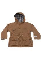 Sticky Fudge - Hooded jacket Brown