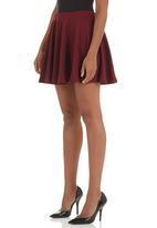 c(inch) - Ponti Dirndl Skirt Red