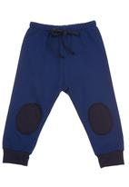 Sam & Seb - Knee patch leggings Mid Blue
