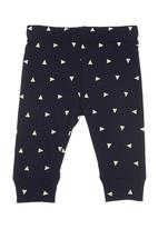 Charlie + Sophie - Triangle-printed bottoms Navy
