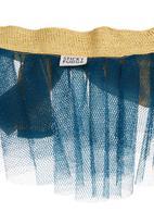 Sticky Fudge - Layered tutu with contrast waistband  Blue (dark blue)