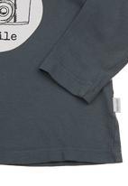 Sticky Fudge - T-shirt with camera print Navy