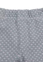 Sticky Fudge - Leggings with honey-print Grey