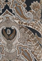 Ilan - Paisley tunic Black/White