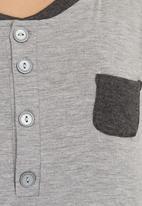 edge - Winter sleepshirt Grey