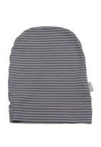 Sticky Fudge - Harper striped beanie Blue