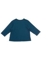 Sticky Fudge - Pablo long-sleeve T-shirt Blue