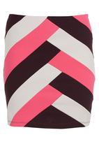 Smash - Bodycon Skirt Multi-colour