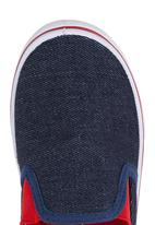 Brats - Boys Loafers with Contrast Dark Blue