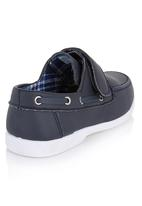 Brats - Boys Loafers with Thread-through Navy