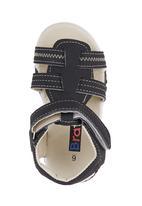 Brats - Boys Velcro Slops Black