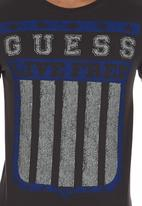 GUESS - Live Free T-shirt Dark Grey