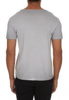 GUESS - Gunner Logo T-shirt Pale Grey